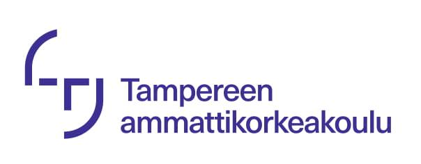 Tampereen ammattikorkeakoulun logo. Sivustolle tästä.