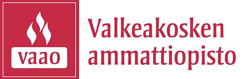 Valkeakosken ammattiopiston logo. Sivustolle tästä.
